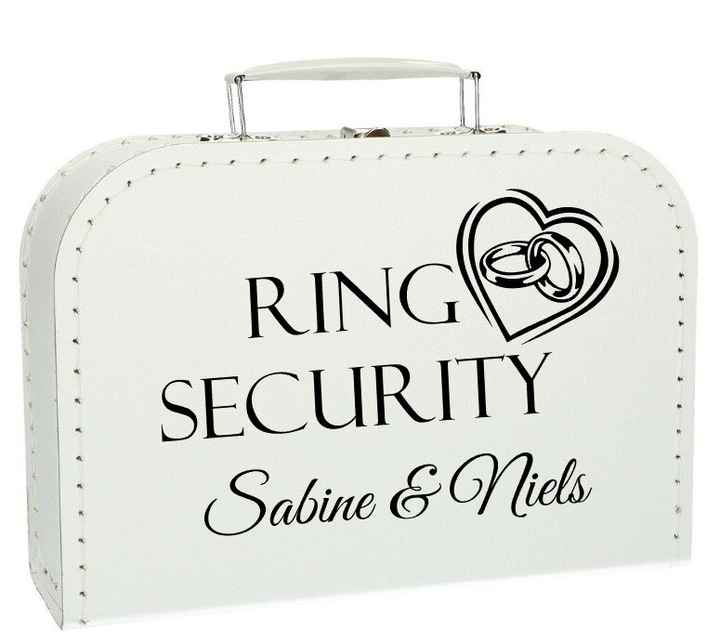 Kinderkoffertje Ring Security