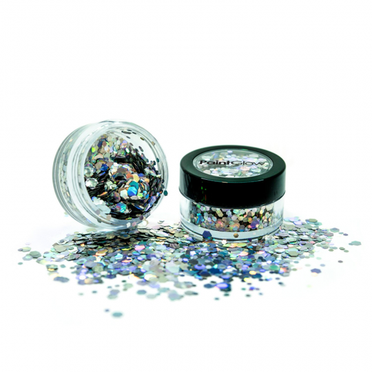 Holografische chunky glitters 3 gram Intergalactic