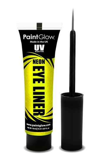 Eyeliner neon UV 15 ml. geel