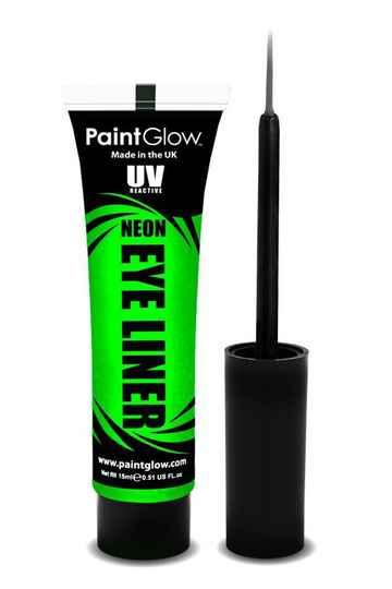 Eyeliner neon UV 15 ml. groen