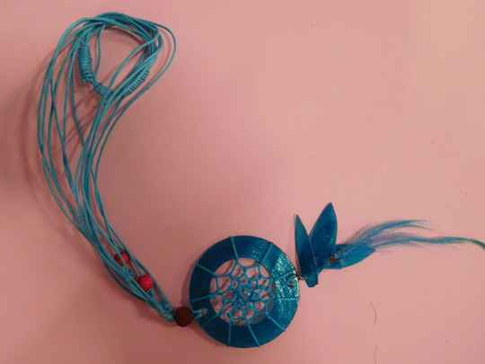 Dreamcatcher schelp ketting