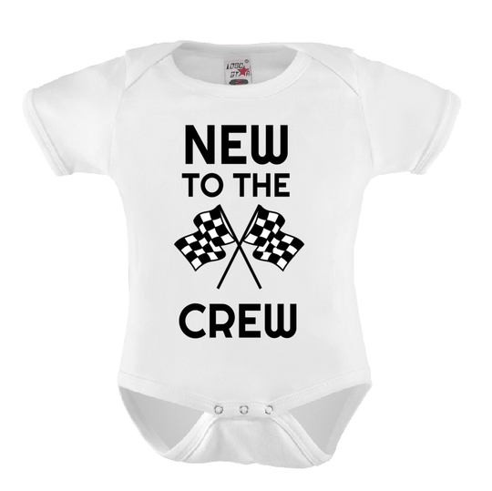 Baby Romper 'NEW TO THE CREW'