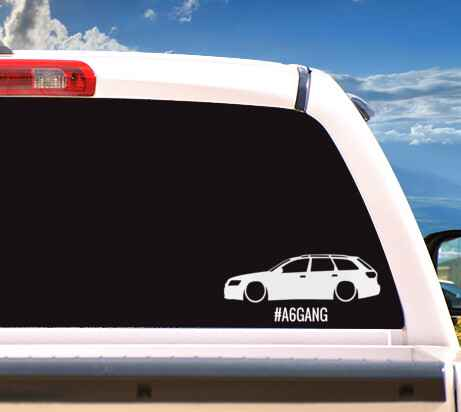 Autosticker '#A6GANG'
