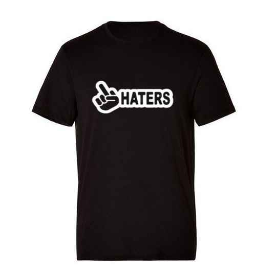 'F*CK HATERS' T-Shirt Glow In The Dark