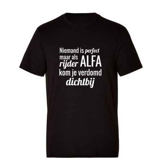 Alfa 'Niemand Is Perfect' T-Shirt