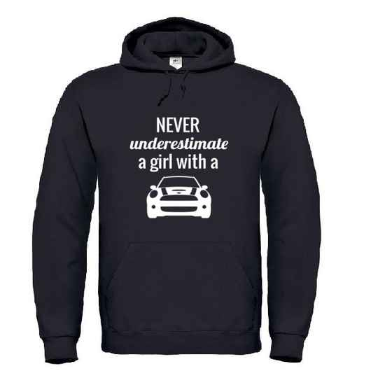 'A Girl With A MINI' Hoodie