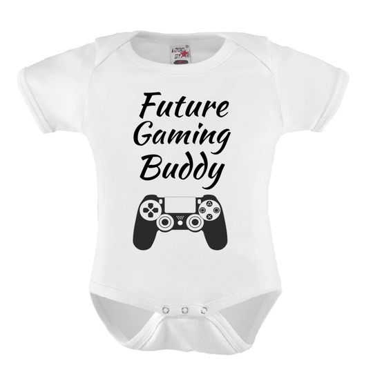 Baby Romper 'Future Gaming Buddy'