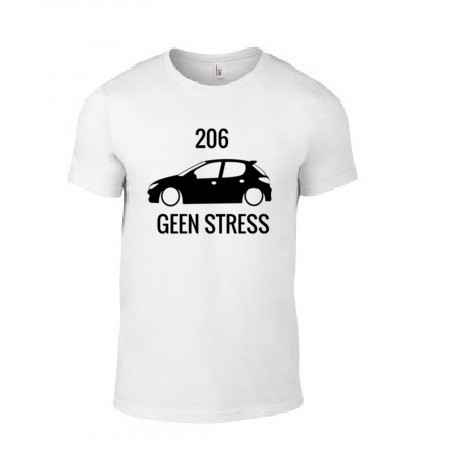 '206 GEEN STRESS' T-Shirt