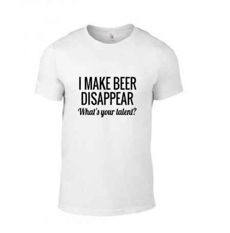 'I Make Beer Disappear' T-Shirt