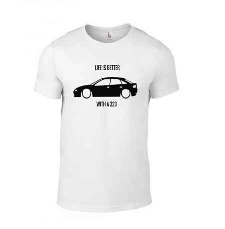 'LIFE IS BETTER WITH A 323' T-Shirt