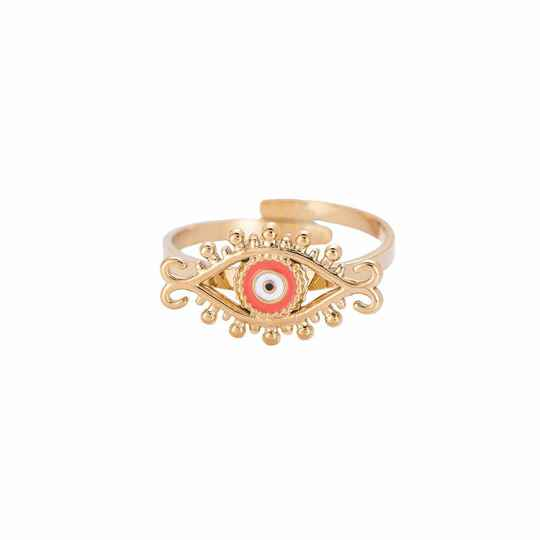 Ancient Eye Symbol Ring