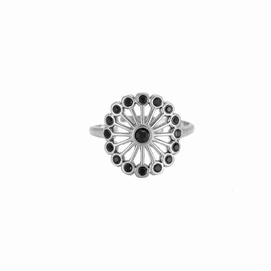 Back Flower Ring