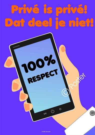 Poster 100% Respect - A3