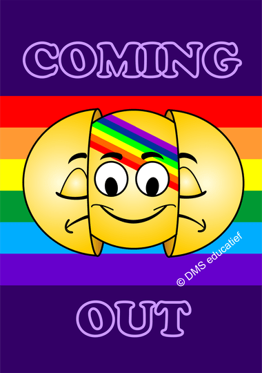 Poster 'COMING OUT' A3
