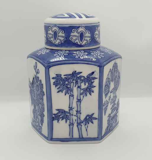 Chinese Blue Jar