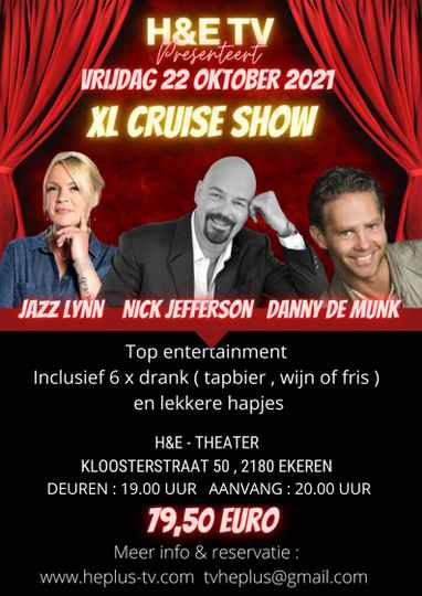 TICKETS XL CRUISE SHOW 22 OKTOBER 2021