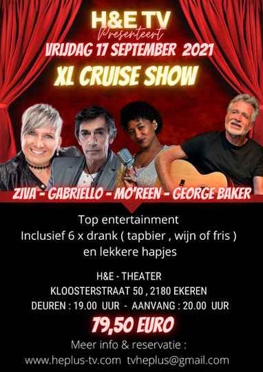 XL CRUISE SHOW VRIJDAG 17 SEPTEMBER 2021