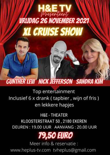 TICKETS XL CRUISE SHOW 26 NOVEMBER 2021