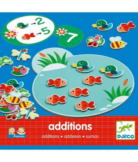 Educatief spel Eduludo Additions 4+