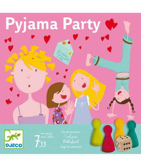 Gezelschapsspel Pyjama Party 7+