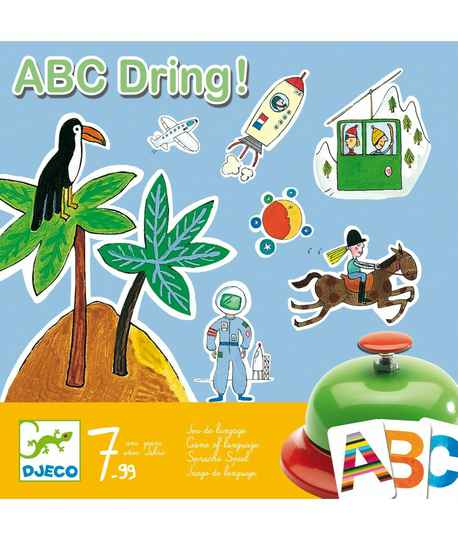 Educatief spel ABC Dring 7+
