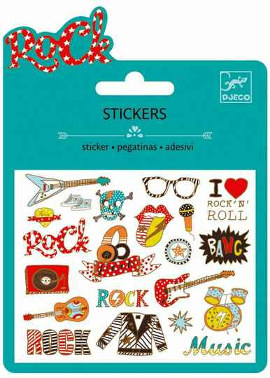 Stickers Rock and Roll 4+
