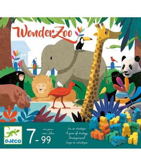 Bordspel Dierentuin Wonderzoo 7+