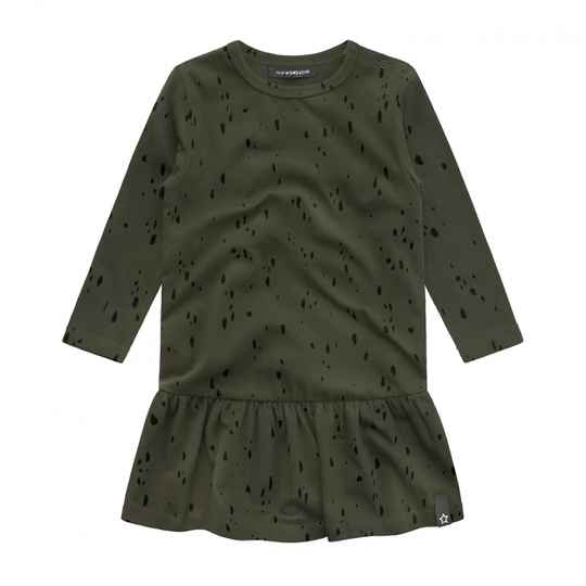 Your Wishes   Dress Green Splatters