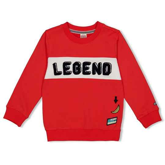 Sturdy | Sweater Rood Legend - Playground