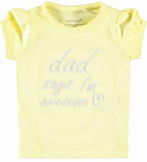 Name It | T-Shirt Yellow Daddy