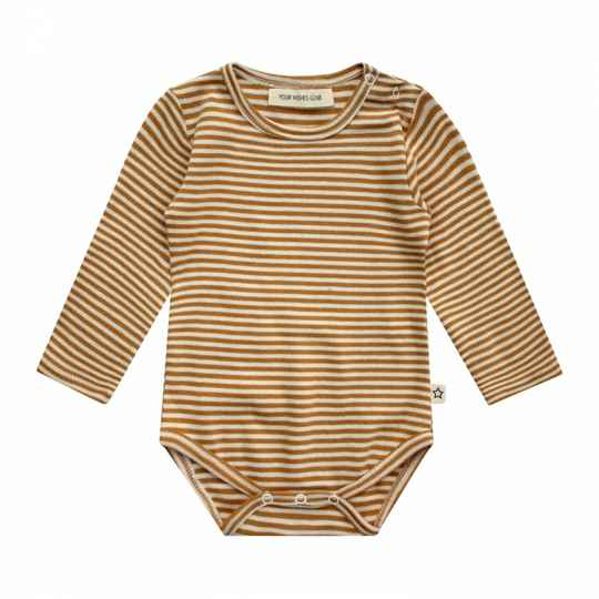Your Wishes | Romper Longsleeve Gold Stripes