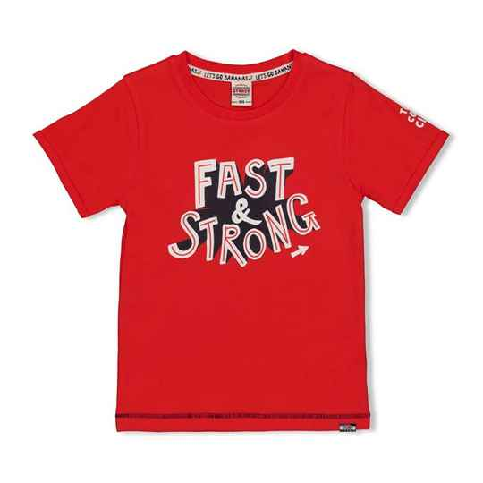 Sturdy | T-Shirt Rood Fast - Playground