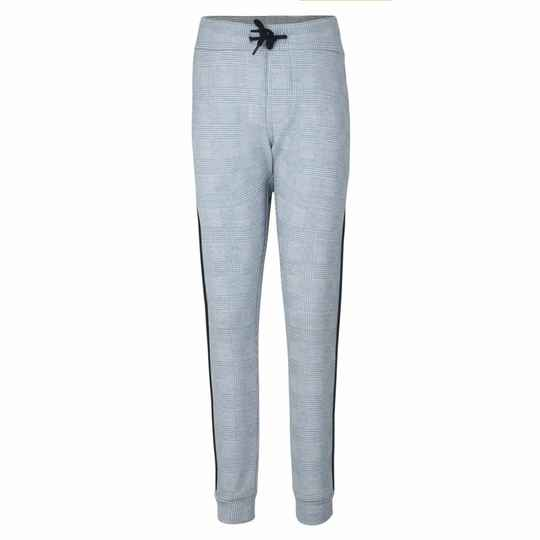 Jumping The Couch | Sweatpants Geruit Lichtblauw