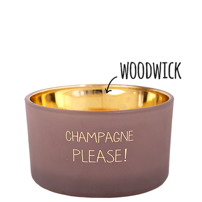 My Flame: Champagne Please - Fig's Delight