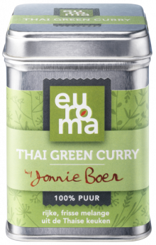 Jonny Boer Thai Green Curry | 70 gram