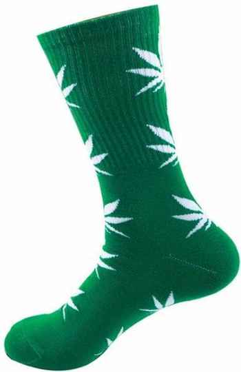Doctor Green Streetwear Sport/Casual Socks Sizes 36-41 (universal size) - 12pairs displays