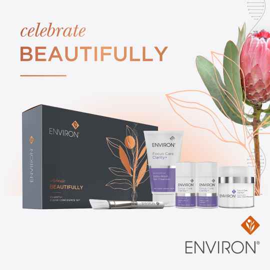 Cadeaubox Celebrate Beautifully Clarity + Clear Confidence Set