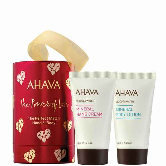 The perfect match hand & body - Ahava holiday collection 2021