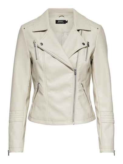 Only Gemma faux leather Peyote jacket