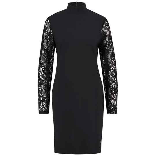 L.O.E.S VALERIE TRAVEL DRESS WITH LACE laatste maat: XXL