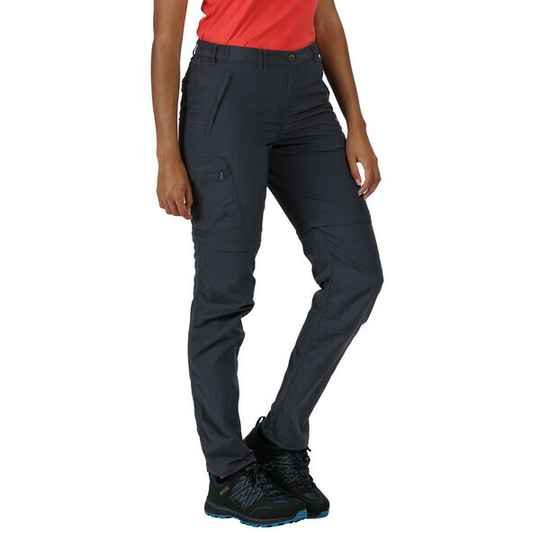 Regatta - Woman's active Chaska zip-off trousers II