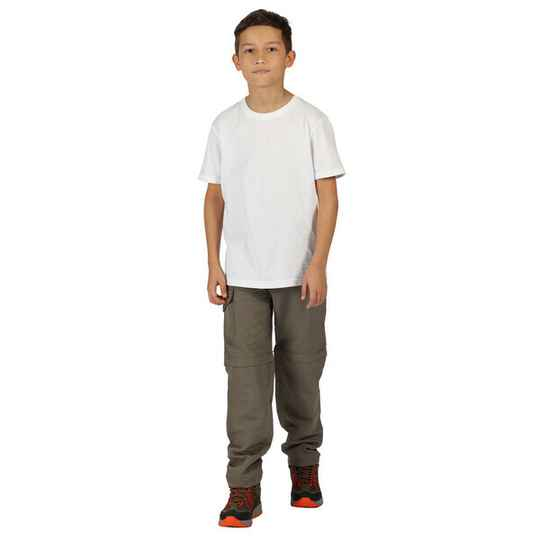 Regatta - Youngsters active Sorcer zip-off trousers II