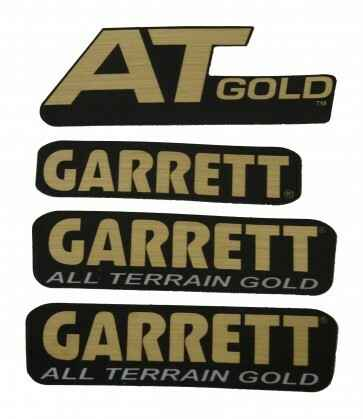 Garrett stickerset  voor de AT Gold.