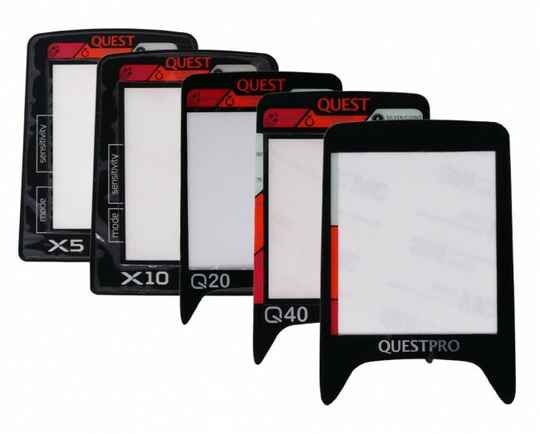 Quest display stickers