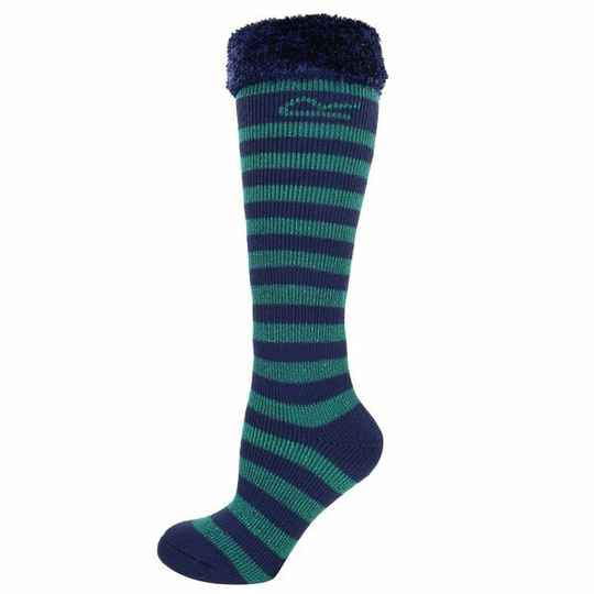 Regatta - Youngsters fur collar Wellington sock