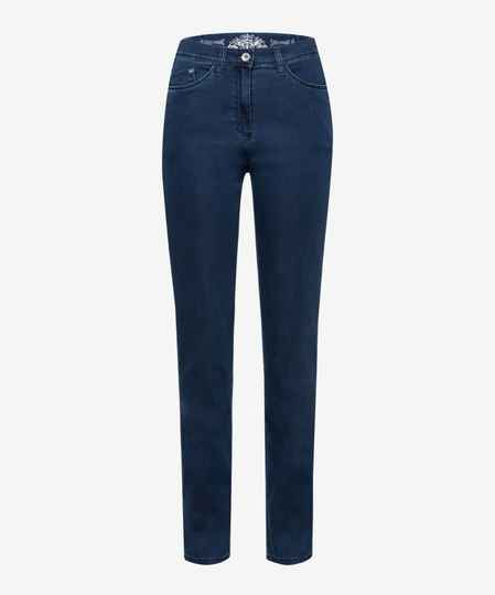 Raphaela by Brax - Donkere jeans met elastische tailleband model LAURA TOUCH 48753 (14-6207/LAURA TOUCH/25)