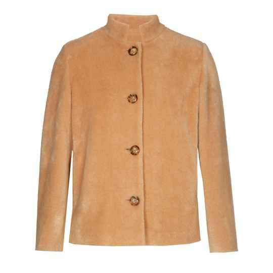 Xandres Gold - Korte winterjas in camel 48162 (BRIZANO)