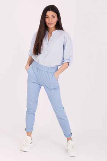 Chino Cotton Light Blue