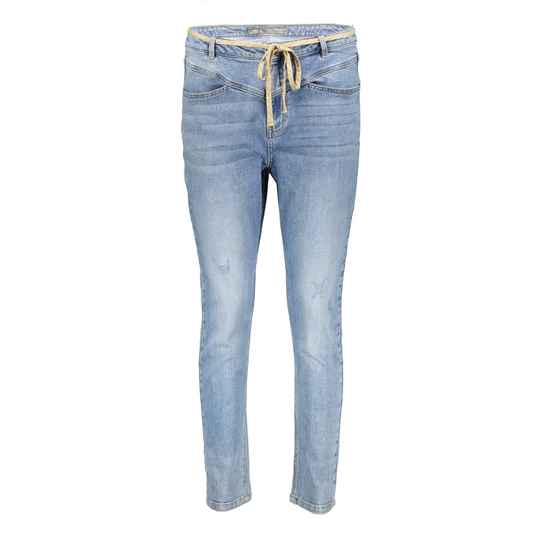 Geisha Jeans w. lace at waist 11017-10
