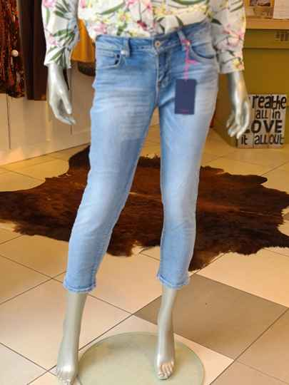 Crop 5 pocket jeans | tn003